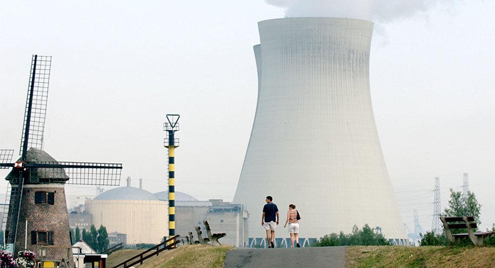 Central nuclear de Doel, Bélgica (archivo)