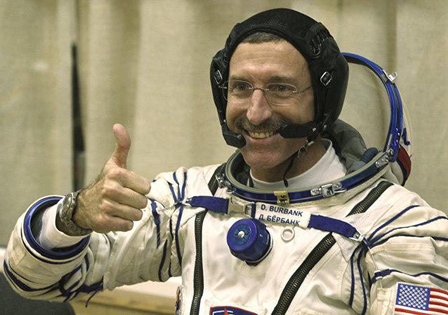 El astronauta estadounidense Dan Burbank