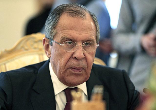 Serguéi Lavrov, ministro de Exteriores de Rusia
