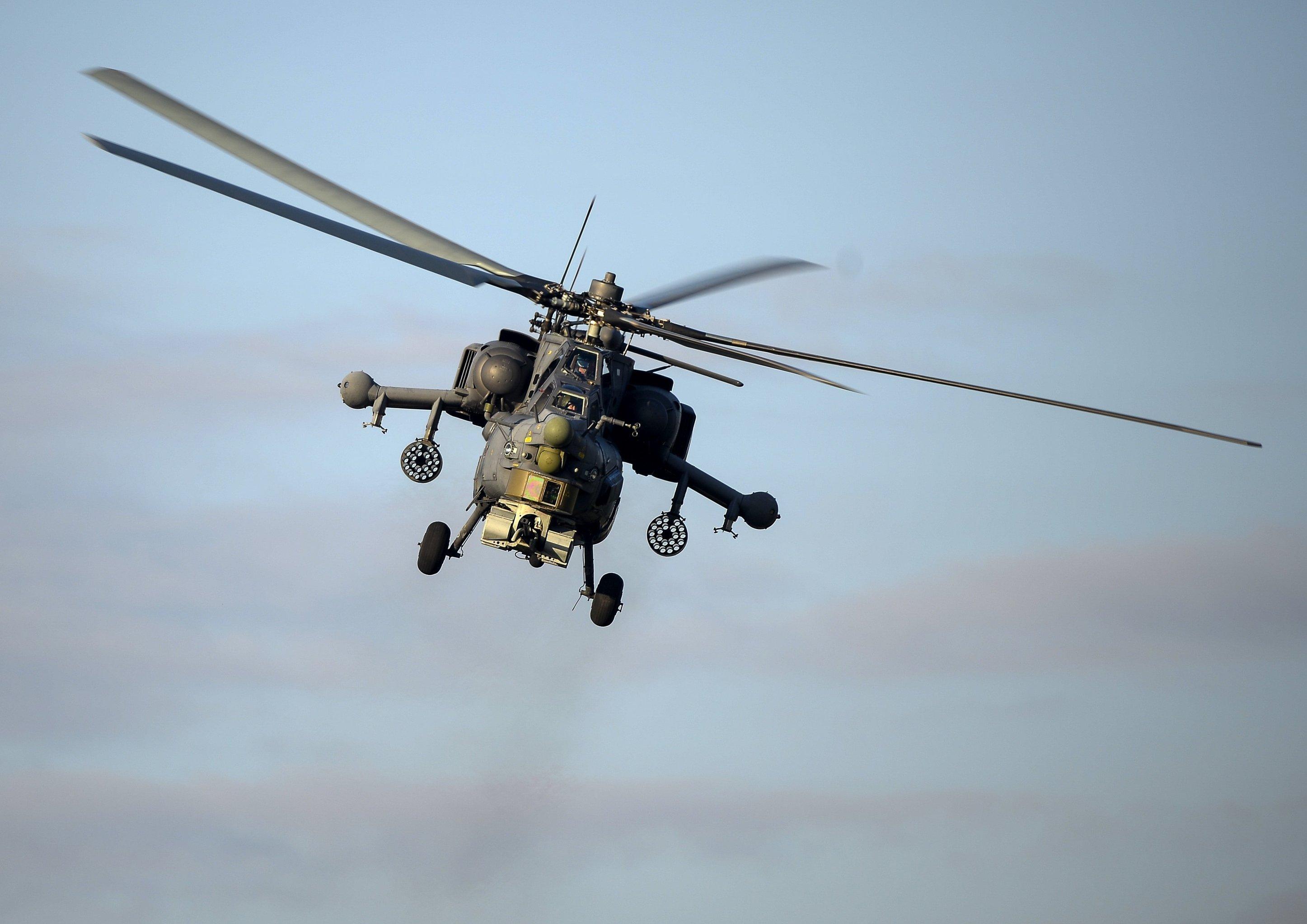 Helicóptero Mi-28N
