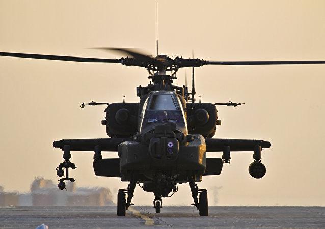 Helicóptero AH-64 Apache
