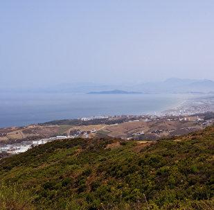 Ceuta, España, frontera con Marruecos