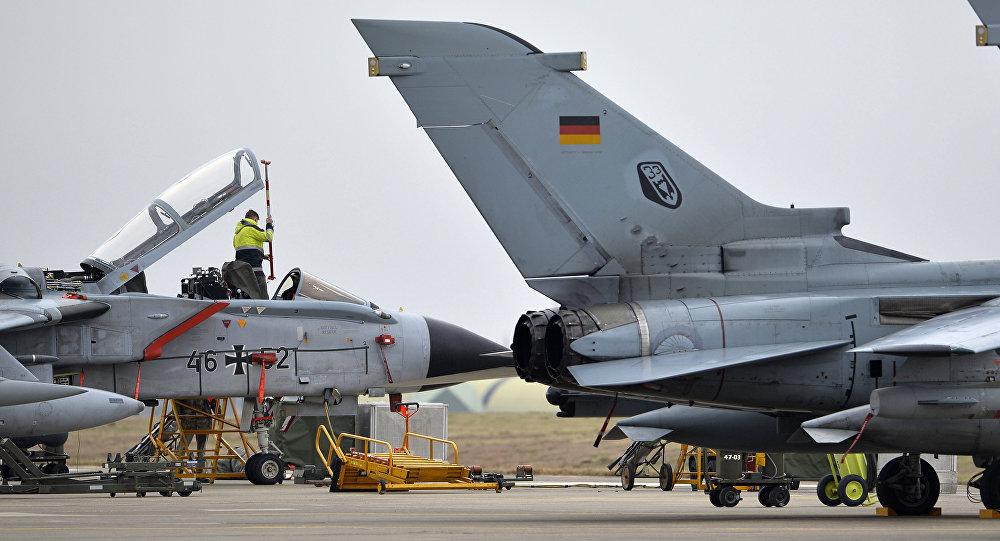 Cazas Tornado en la base aérea de Incirlik