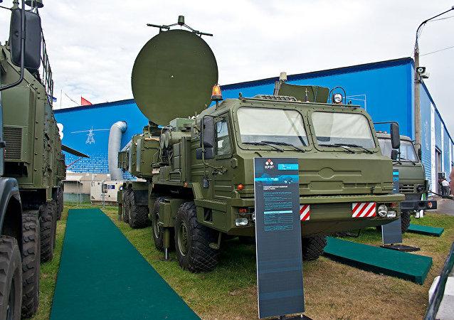 Sistema de guerra electrónica autopropulsado Krasuja