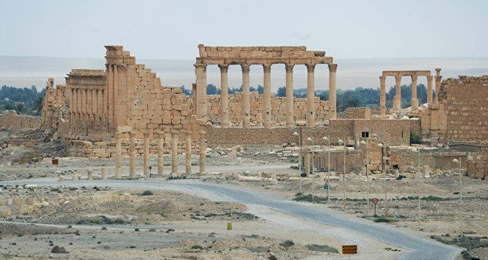 Monumentos destruidos por Daesh en Palmira