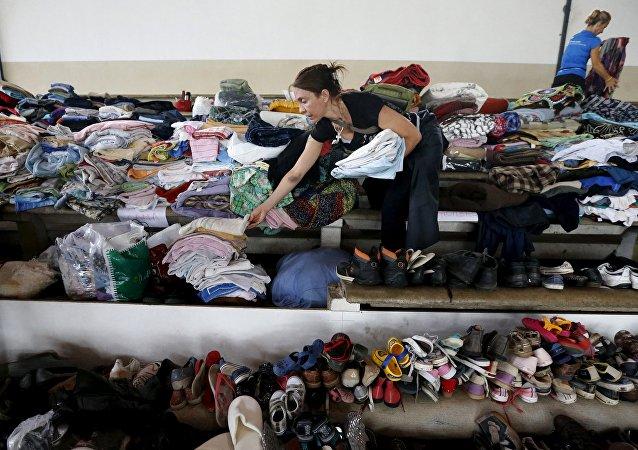 Donaciones para las víctimas de los temporales en Uruguay