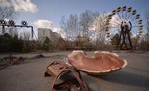 La ciudad abandonada de Prípiat en la zona de alienación de Chernóbil