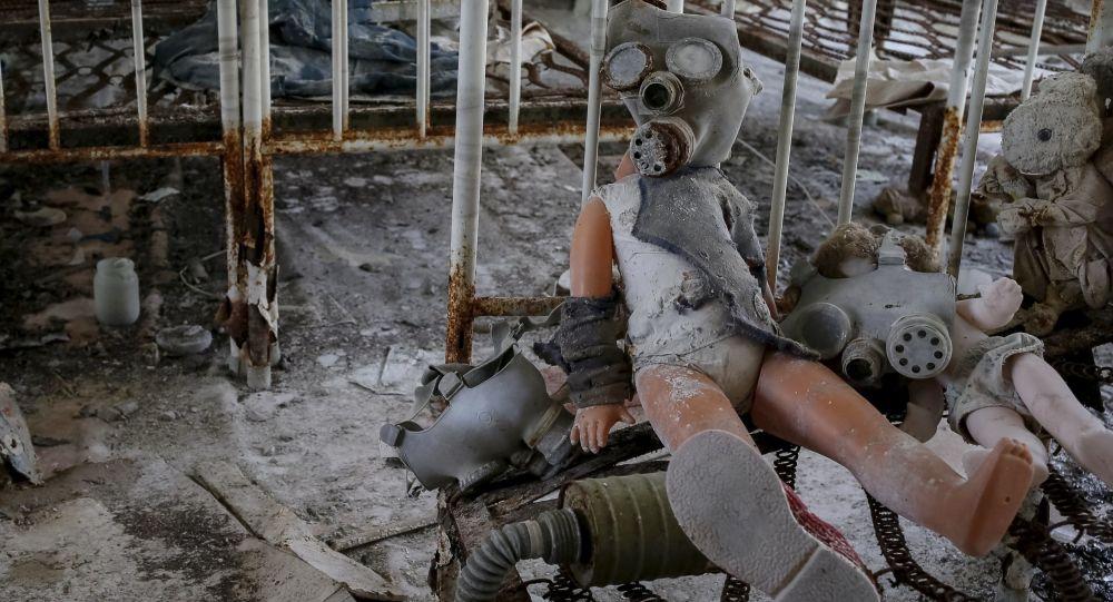 Guardería abandonada en la ciudad ucraniana de Prípiat