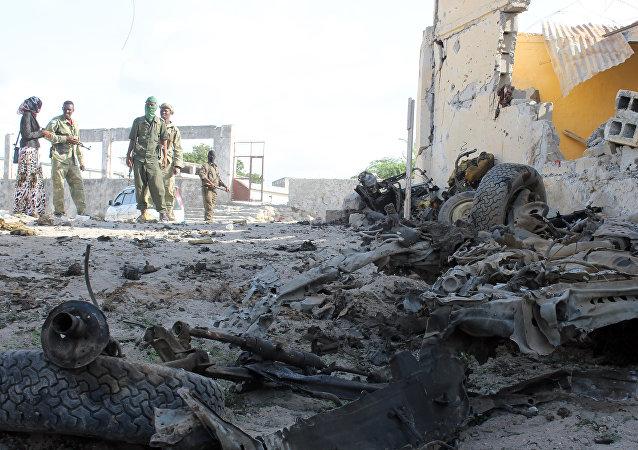 Ataque de Al Shabaab contra los militares en Somalia (archivo)