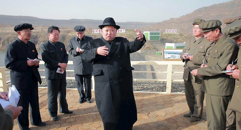 Kim Jong Un, líder norcoreano