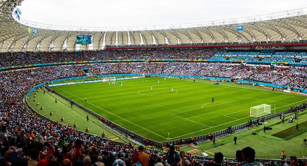 Estadio de fútbol, 2014 (archivo)