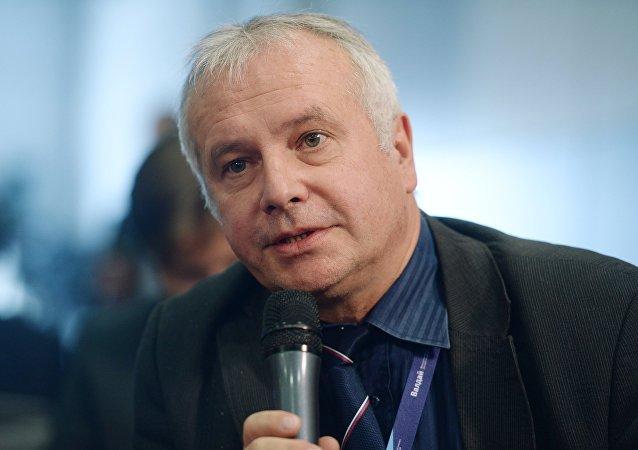 Alexander Rahr, miembro del Consejo de Política Exterior de Alemania