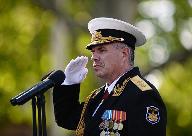 Alexandr Vitkó, comandante de la Flota del Mar Negro de Rusia