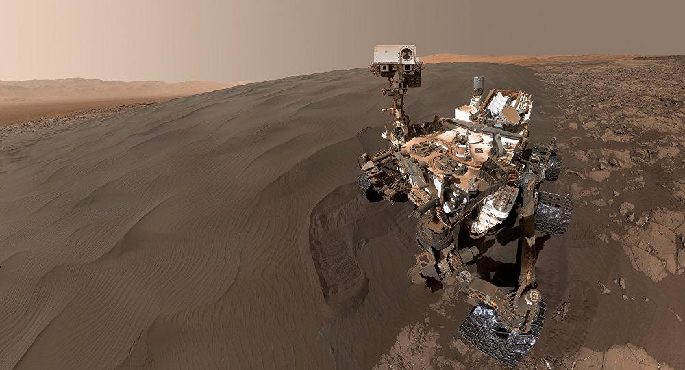 El vehículo de exploración espacial, Curiosity