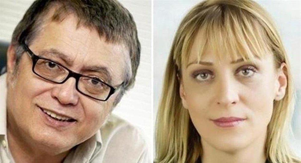 Los periodistas turcos Hikmet Cetinkaya y Ceyda Karan, condenados a 2 años de prisión en Turquía