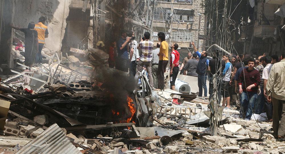 Bombardeo en Idlib deja al menos 52 muertos — Siria