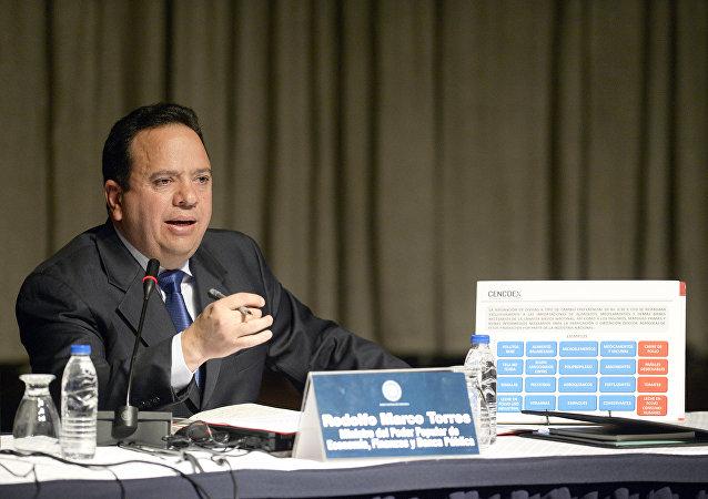 Rodolfo Marco Torres, ministro venezolano de Alimentación