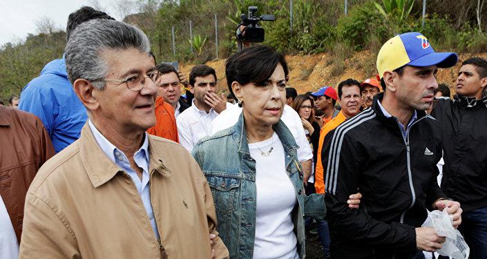 Antonieta Mendoza , madre de Leopoldo López