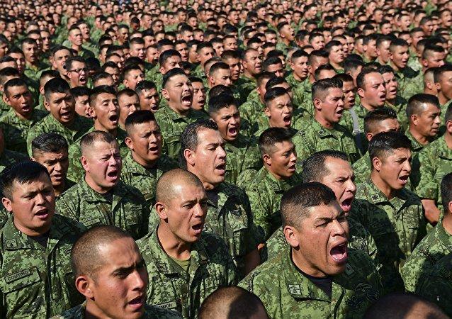 Militares mexicanos (imagen referencial)