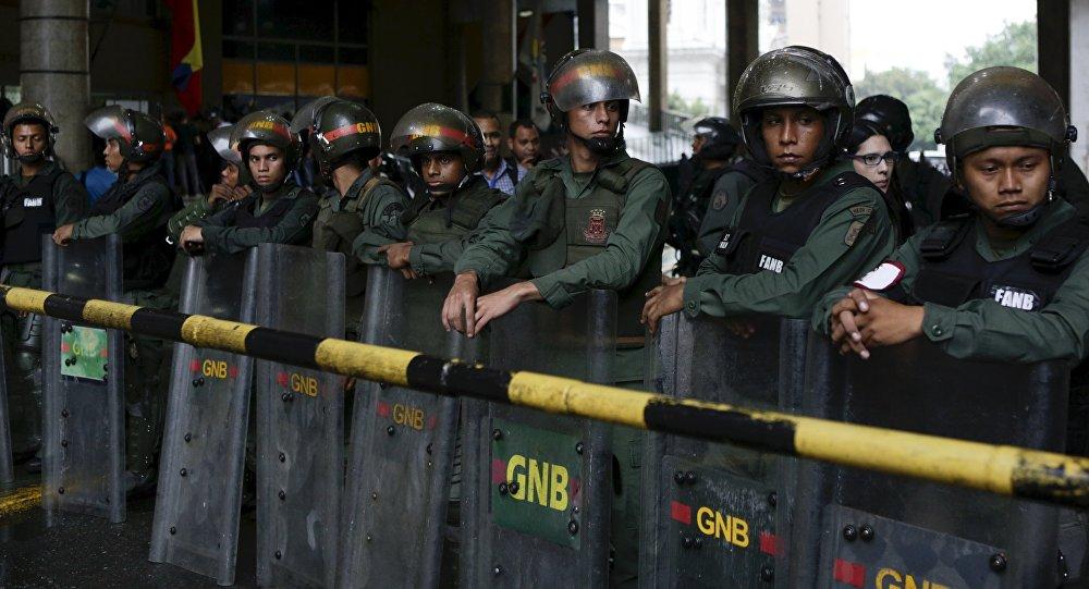 Guardia Nacional Bolivariana (archivo)