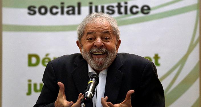 Expresidente de Brasil Luiz Inacio Lula da Silva