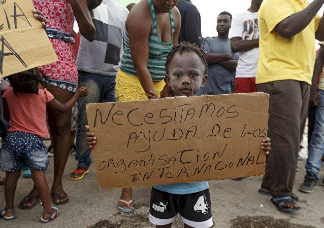 Migrantes africanos en Costa Rica