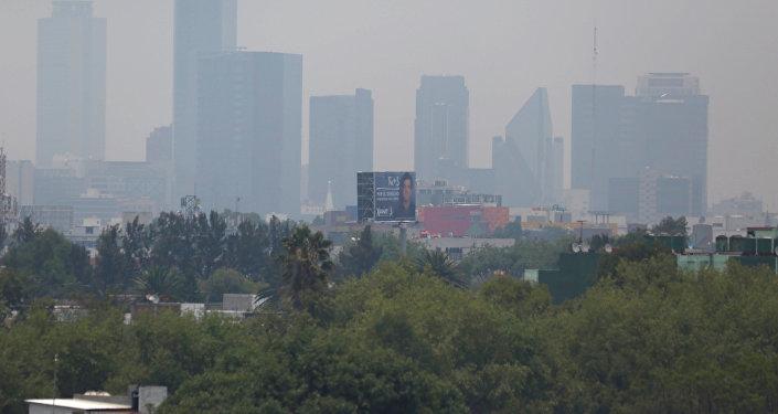 Smog en la ciudad de México (Archivo)