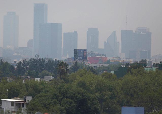 Smog en la ciudad de México