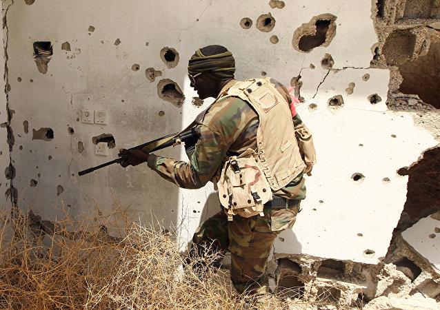 Militar libio