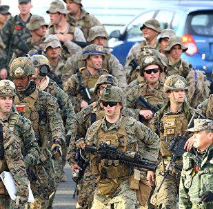 Soldados estadounidenses en Corea del Sur (archivo)
