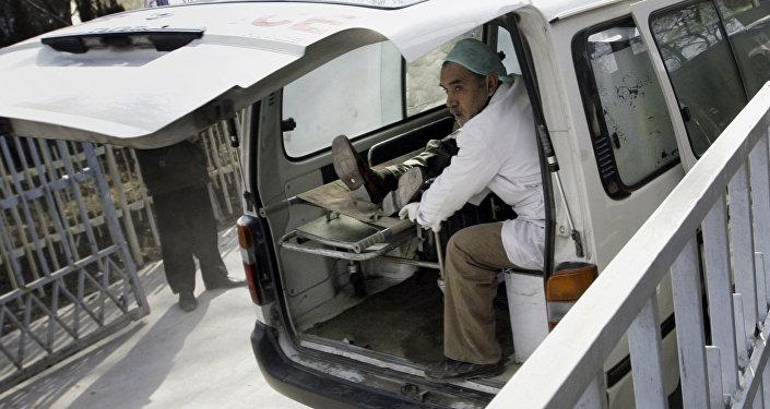 Ambulancia afgana (archivo)