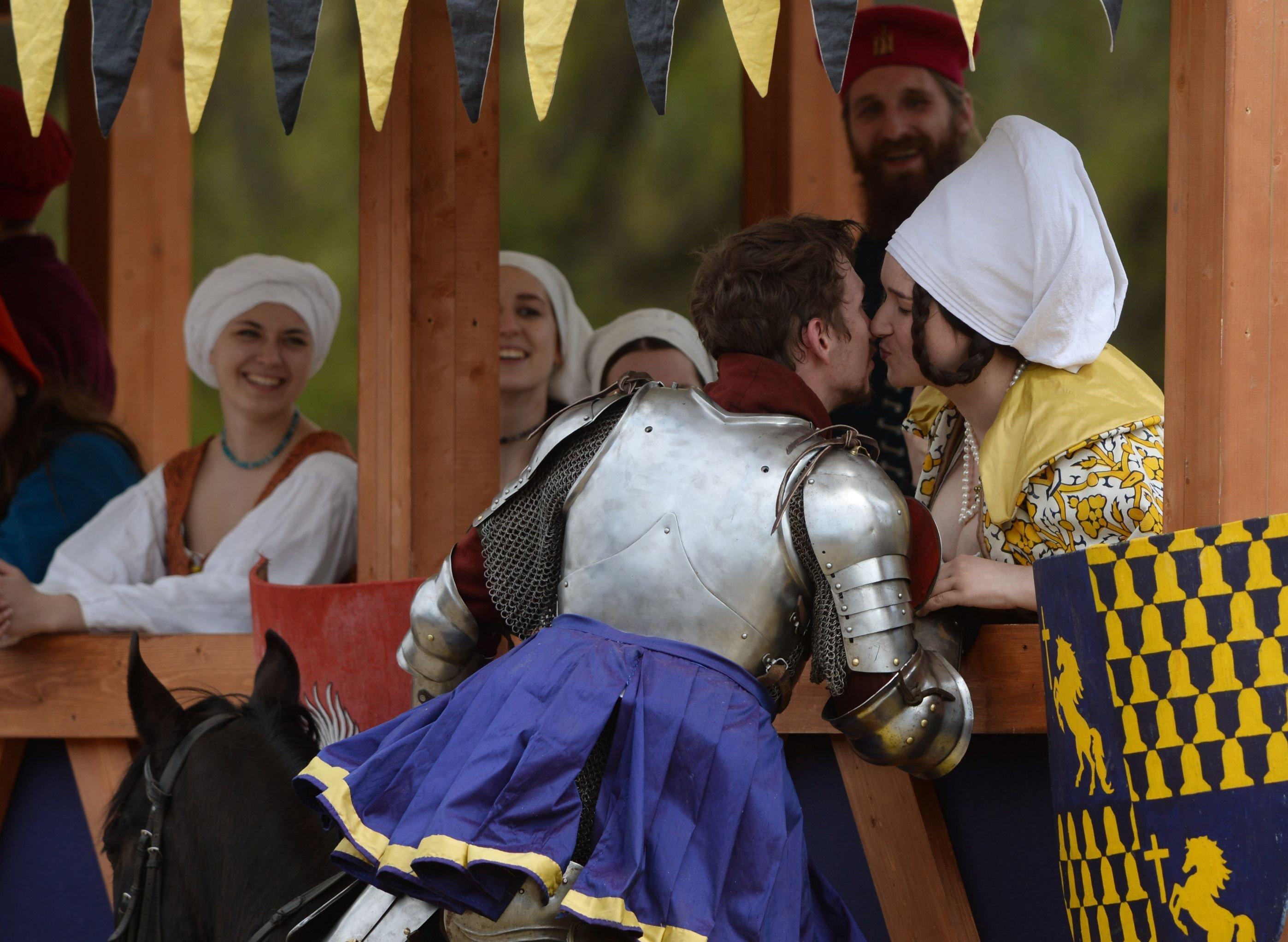 Torneo Medieval San Jorge en Moscú