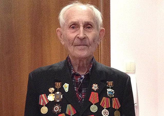Mijaíl Lukiánov, veterano de la Gran Guerra Patria