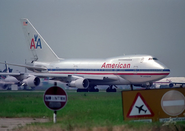 Avión de American Airlines (archivo)