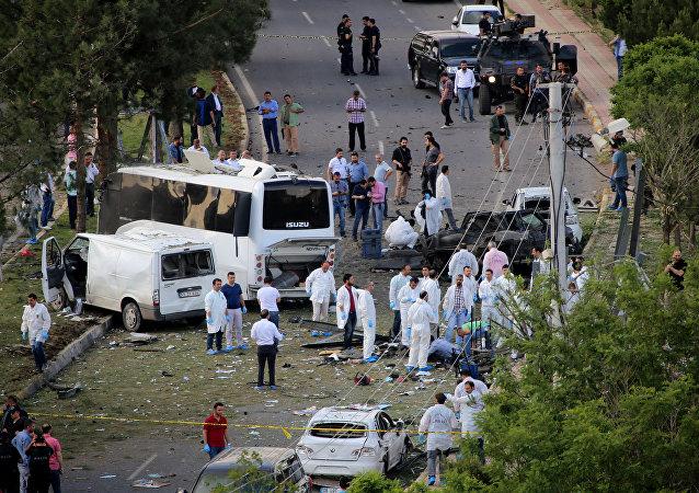 Explosión en la ciudad turca de Diyarbakir