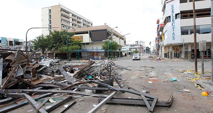 Consecuencias del terremoto en Ecuador