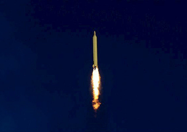 Un misil balístico iraní (archivo)