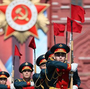 Desfile militar de la Victoria en Moscú
