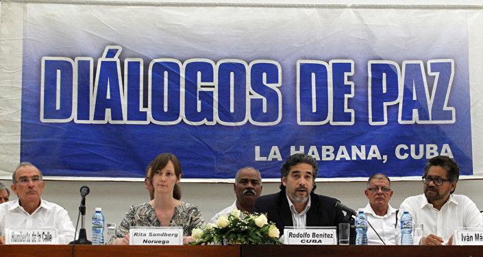 Las negociaciones entre el Gobierno de Colombia y las FARC en la Habana