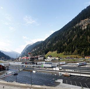 Frontera entre Italia y Austria
