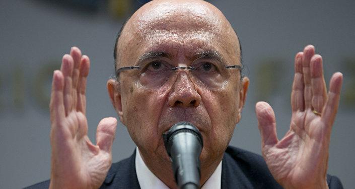 Henrique Meirelles, ministro de Finanzas de Brasil