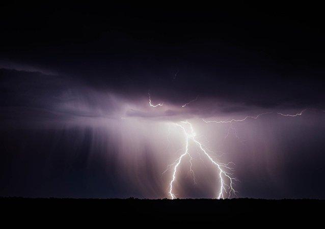 Un rayo (imagen referencial)