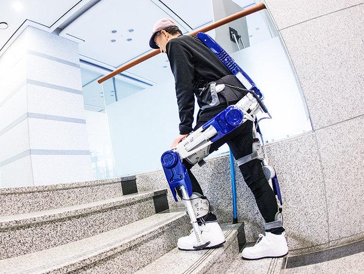 El exoesqueleto de Hyundai prevé aumentar la movilidad de las personas