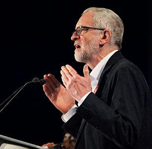 Jeremy Corbyn, líder laborista de Reino Unido