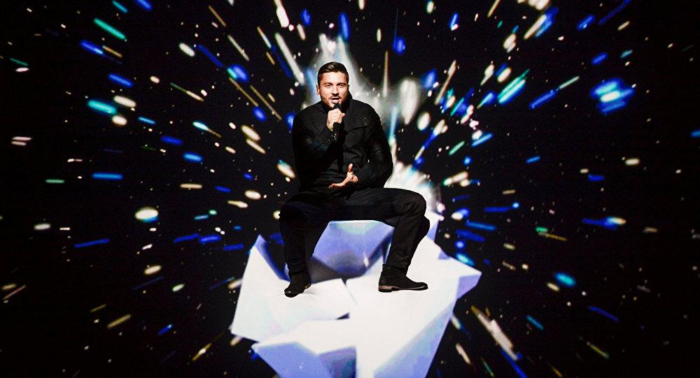 Serguéi Lazarev,  cantante ruso