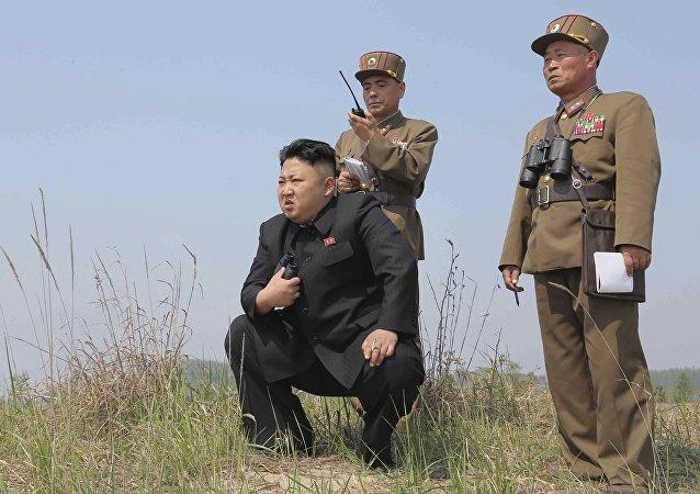 El jefe de estado de Corea del Norte, Kim Jong-un