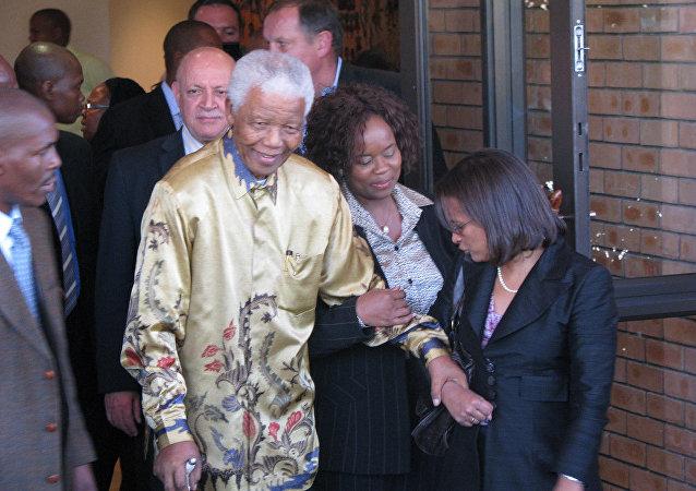 Nelson Mandela, el expresidente de Sudáfrica