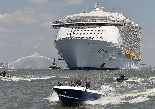 El crucero más grande del mundo, el Harmony of the Seas,