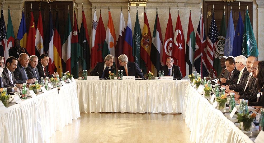 Reunión sobre Libia en Viena, Austria