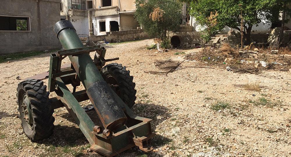Una aldea siria ocupada por los terroristas del Frente al Nusra (archivo)